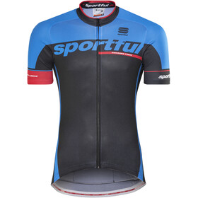 Sportful SC Team Jersey Men black/electric blue